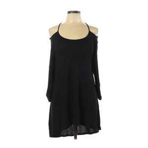 Anne Fontaine Ethan Cut Out Black Dress Tunic